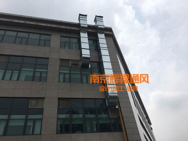 滁州维利康加食品厂通风管道制作安装