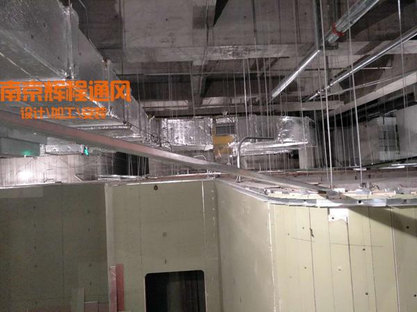 滁州饭店厨房排烟排烟净化风管安装